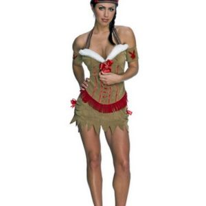 Obleka Pocahontas-0