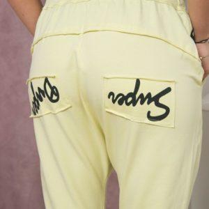 Ženske hlače z zadrgo-0