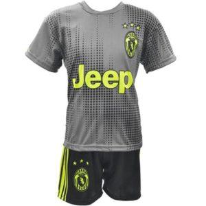 Otroški dres Ronaldo Juventus siv