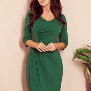 IRIS nagubana obleka - ZELENA 255-2